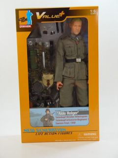 Dragon Models WWII 1/6 scale 12 German Soldier Totenkopf Aldo Holger