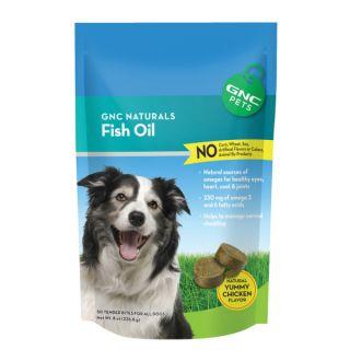 GNC Pets® Naturals Fish Oil    Health & Wellness   Dog