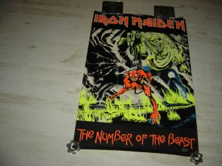maiden poster cd vinyl lp plakat heavy metal the number of the beast