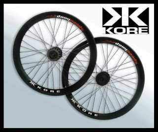 "Kore BMX Dirt jumping wheelset/wheel set 20"" Speed Hoop al6061 front"