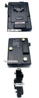 Lock Mount To Anton Bauer Battery Adaptor Plate Fit Sony Panasonic