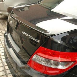 Carbon Spoiler Heckflügel Heckspoiler lippe AMG fit Mercedes Benz
