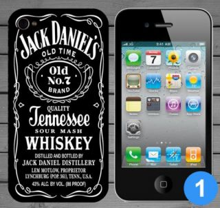 Daniels JD Tennessee Whiskey Back Case Cover for Apple iPhone 5