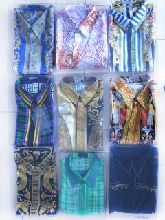 Hemd Shirt   Gr. 50 (Seide / Silk) (100% Original) (4/9)