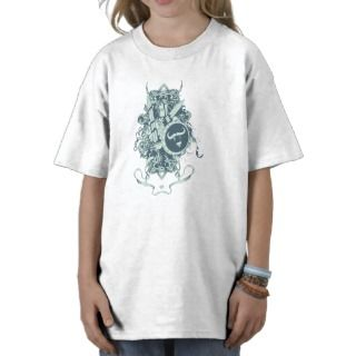 Skull ~ Shield & Armor Skull Fantasy Art Shirt