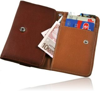 Book Style Handytasche Etui Motorola Defy Mini +EC Kartenfach Case