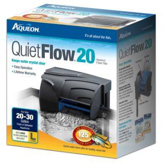 Aqueon Quiet Flow 20 Aquarium Power Filters   Sale   Fish
