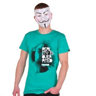 Bench Reality T Shirt Shirt T Shirts Herren grün green BMGA2796 GR207