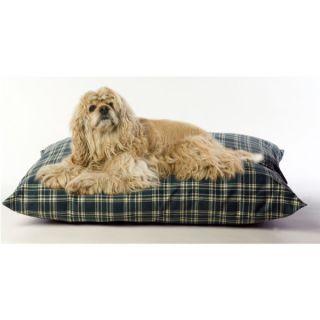 Carolina Pet Indoor Outdoor Pet Bed   Green Plaid