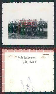 Orig. Foto Inf. Rgt. 487 in Schlobin Homel Weißrussland