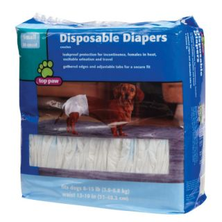 Top Paw Disposable Diapers   30 pk