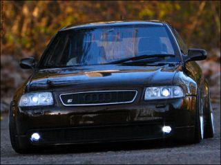 18 Tuning Audi A3 S3   Xenon Umbau   Braun Mettalic + Gold BBS