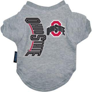Ohio State Buckeyes Logo Pet T Shirt    Clothing & Accessories   Dog