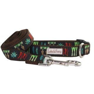 Lola & Foxy Nylon Dog Leashes   Veggie Patch   Leashes Nylon   Collars, Harnesses & Leashes