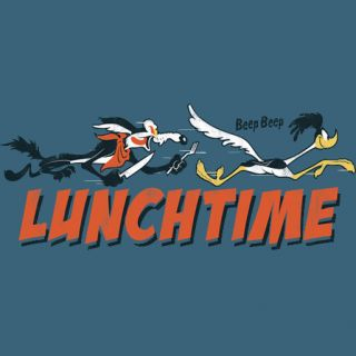 Logoshirt Looney Tunes Lunchtime Road Runner T Shirt