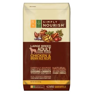 Simply Nourish™ Chicken & Brown Rice Recipe Adult Large Breed Dog Food   Dry Food   Food