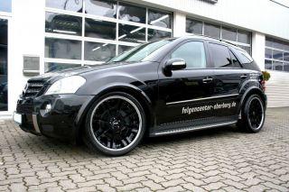 Disare Black 22 Zoll 22 Alufelgen Felgen Mercedes ML 63 AMG W164