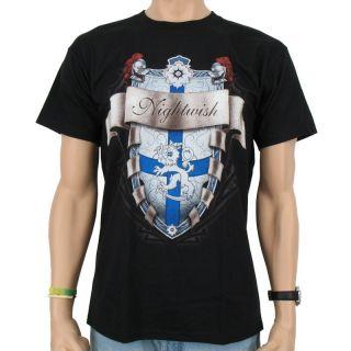 Nightwish   Shield Band T Shirt, black