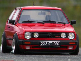 18 Tuning VW Golf 2 G60 Limited + 14´Tramont Echtalus