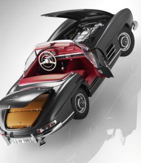 Original Mercedes Benz Modellauto 118 300 SL Roadster W198 Classic