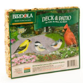 Birdola Deck & Patio Seed Cake   Wild Bird   Bird