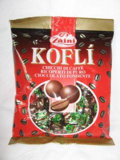 Zàini Kofli Schokoladenpralinen mit Kaffeebohnen 1 kg. Italienische