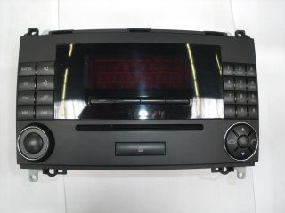 Mercedes Benz Auto Radio Audio 20 CD A1698201589 Bediengerät A Klasse
