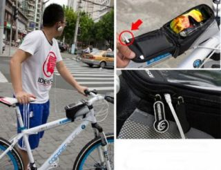 New Cycling Bike Bicycle Frame Front Tube Bag Touch Phone Case For