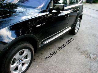 BMW X 3 E83 Alu Trittbretter MICRO Medes Point