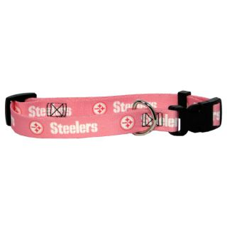 Pittsburgh Steelers Pink Pet Collar   Team Shop   Dog