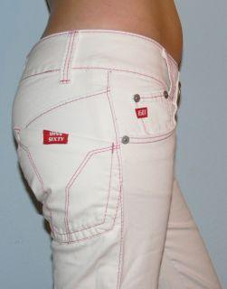 MISS SIXTY Jeans SNUFFLES Capri ♥SNUFFY♥ Weiss weiß 26