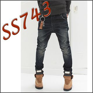 Men Two Pocket Baggy Jeans 28 30 32 It Item Denim SS743