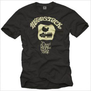 VINTAGE WOODSTOCK BAND T SHIRT HIPPIE MUSIK DJ ED S XXL