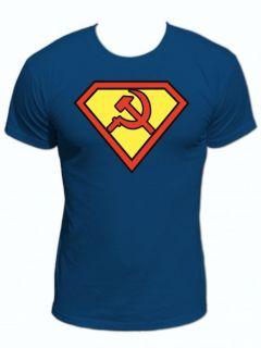 SUPERMAN UdSSR RUSSLAND DDR MAN FUN KULT T Shirt S 3XL