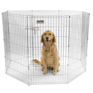"Precision Pet Exercise Pen with Door   42""   Gates & Exercise Pens   Dog"