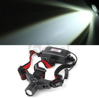 CREE 600LM LED Stirnlampe Kopflampe Headlamp 3 Modi weisses Licht