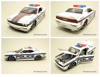 Dodge Challenger SRT8 2008 Police Tuning, Modellauto 124 / Maisto