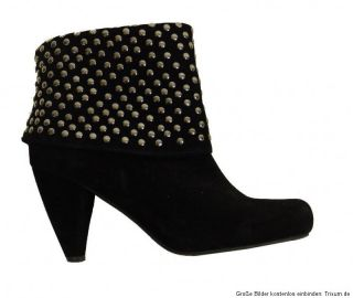 Akira ♥ Stiefelette ♥ Schuhe ♥ Ankle Boots ♥ Nieten ♥ Gr. 38