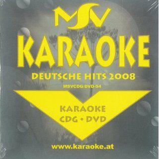 Deutsche Hits 2008 Karaoke [DVD AUDIO] Musik