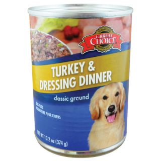 Grreat Choice� Turkey and Dressing Canned Dog Food   Sale   Dog