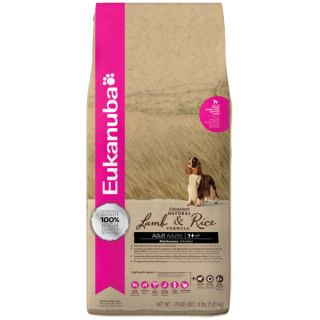Eukanuba Adult Natural Lamb & Rice Formula Dog Food   Food   Dog