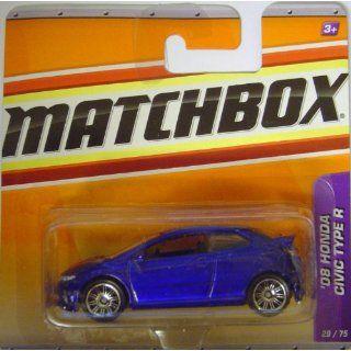 Matchbox Autos   2008 Honda Civic Type R   blau Spielzeug