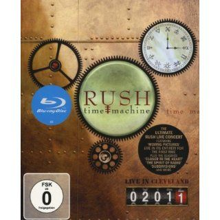 Rush   Time Machine/Live in Cleveland 2011 [Blu ray] Rush