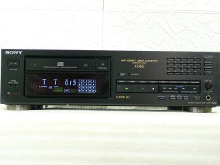 SONY CDP X 33ES Compact Disc Player