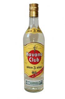 Havana Club ANEJO 3 ANOS Rum 40% 0,7Ltr. El Ron de Cuba