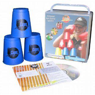 Flash Cups 1001   Speed Stacking FlashCups 12 Stück, mit Box+DVD