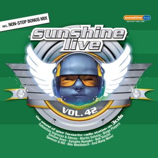 Sunshine Live Vol.42   Various Artists (3CDs) Neu