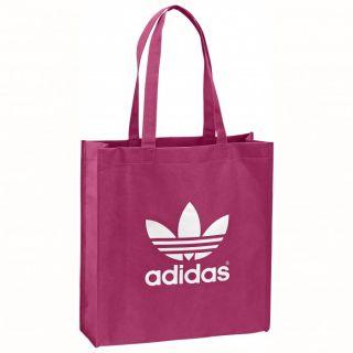 Adidas AC Trefoil Shop Shopper Tasche Taschen Power Pink White Lila