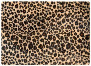 Laptop Skin Leopardenfell, Stoff, Universal 390 x 265mm (bis zu 17