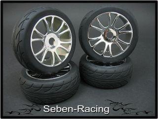 onroad rims + tyres wheels FR42 18 Hard Pimp Style